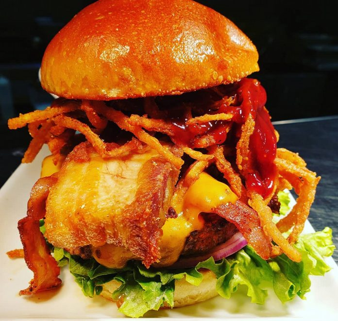 Social House Grand Rapids burger