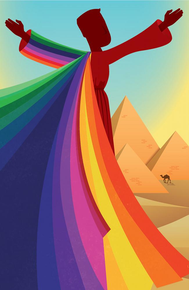 Joseph and the Amazing Technicolor Dreamcoat poster Circle Theatre