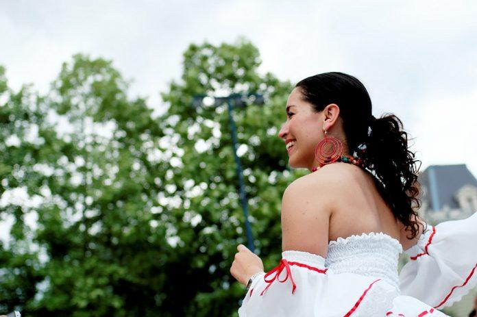 Latina dancer