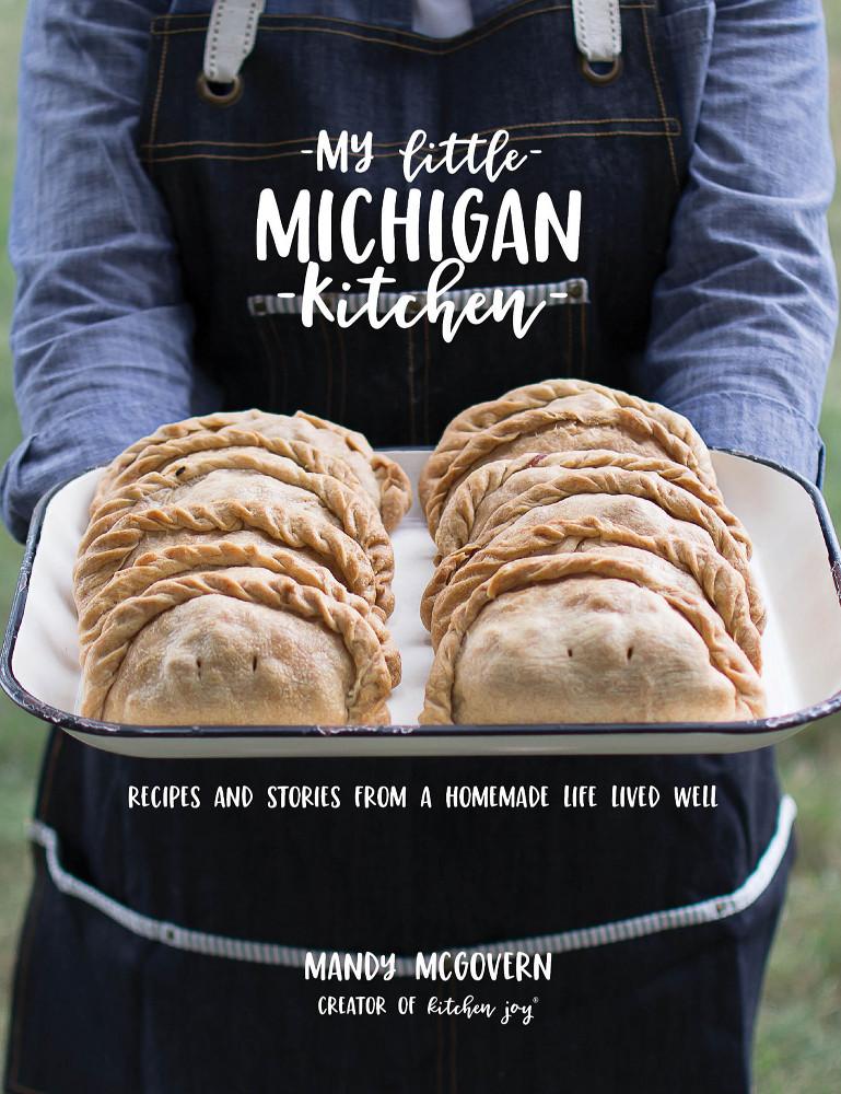 My Little Michigan Kitchen cover cookbook