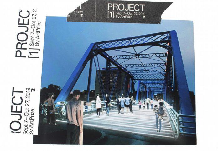 Project 1 Voice Bridge installation by Rafael Lozano-Hemmer rendering