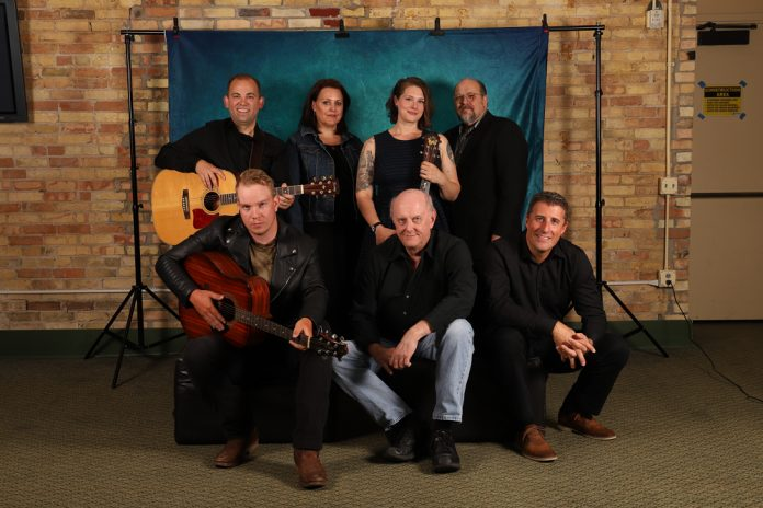 The Ring of Fire 2019 ensemble cast Grand Rapids Civic Theatre