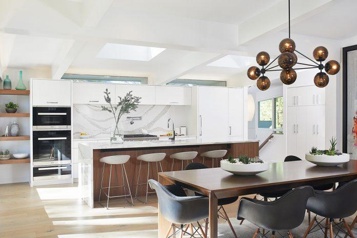 TruKitchens mid-century remodel modern kitchen