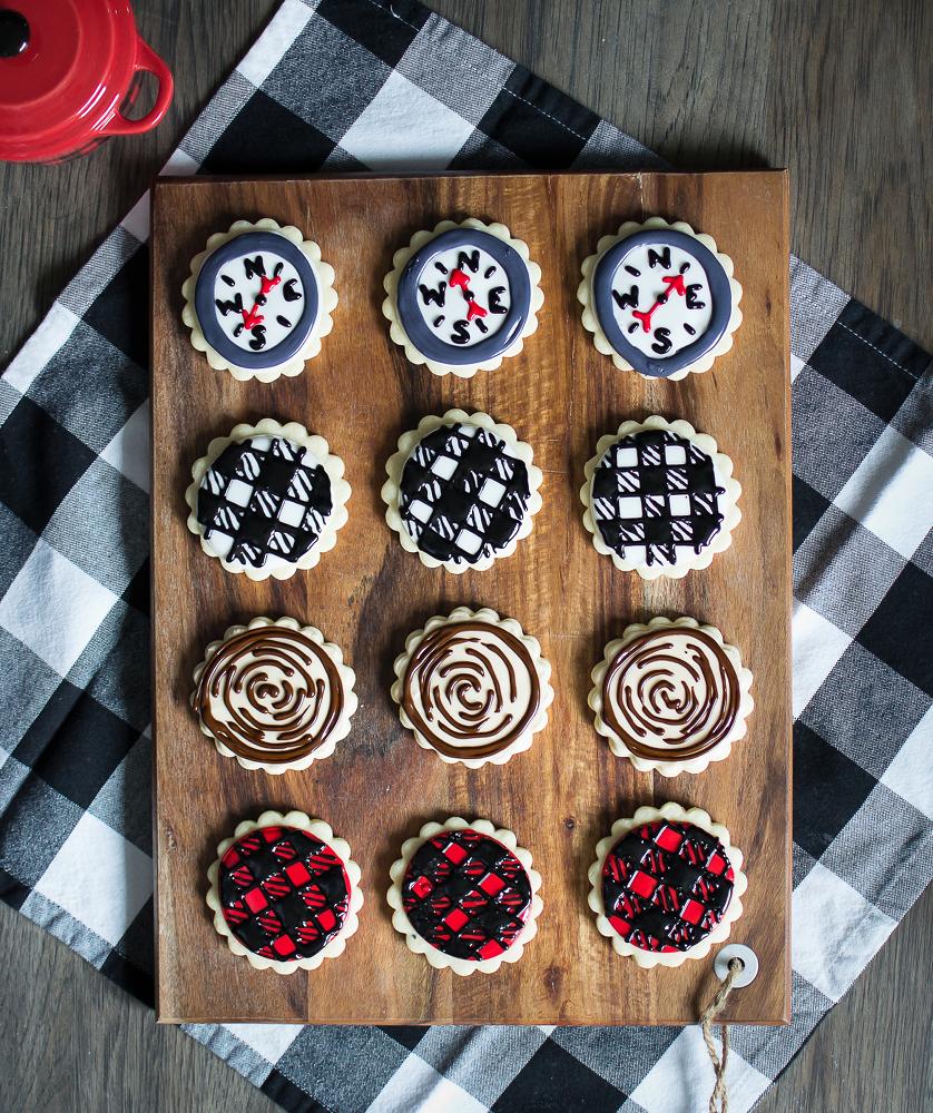 cut-out sugar cookies My Little Michigan Kitchen cookbook