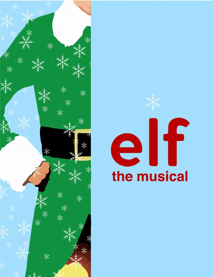 Elf The Musical poster Grand Rapids Civic Theatre