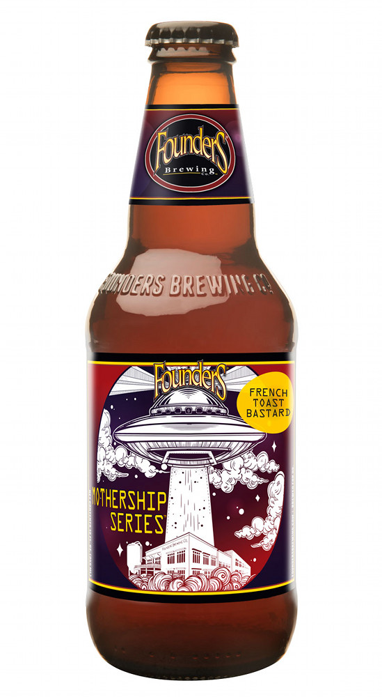 Founders Brewing Co. French Toast Bastard beer bottle