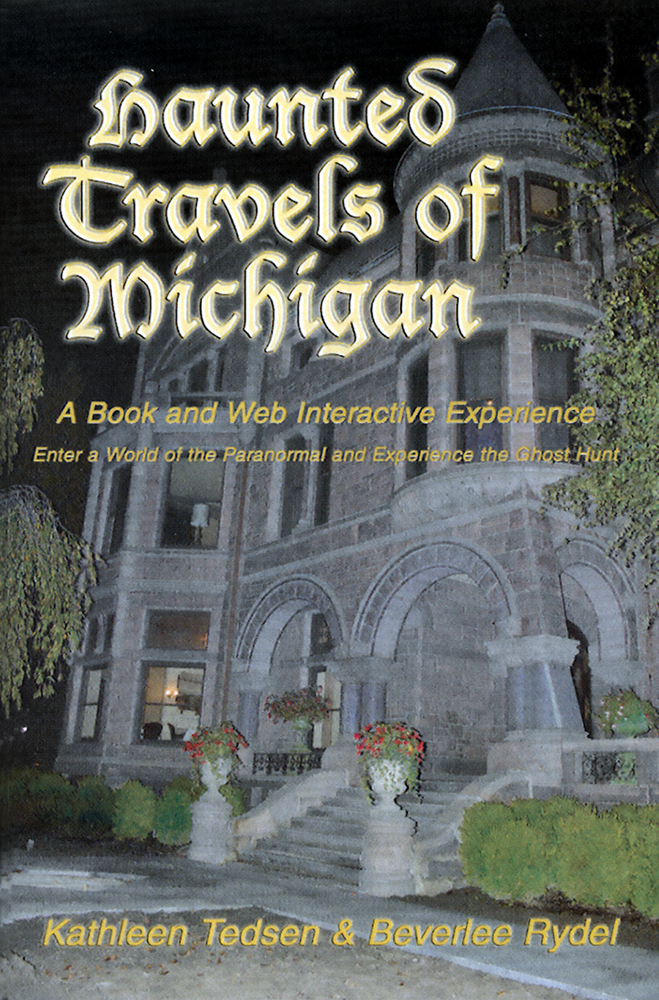 Haunted Travels of Michigan book cover