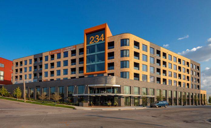 234 Market apartments Grand Rapids exterior