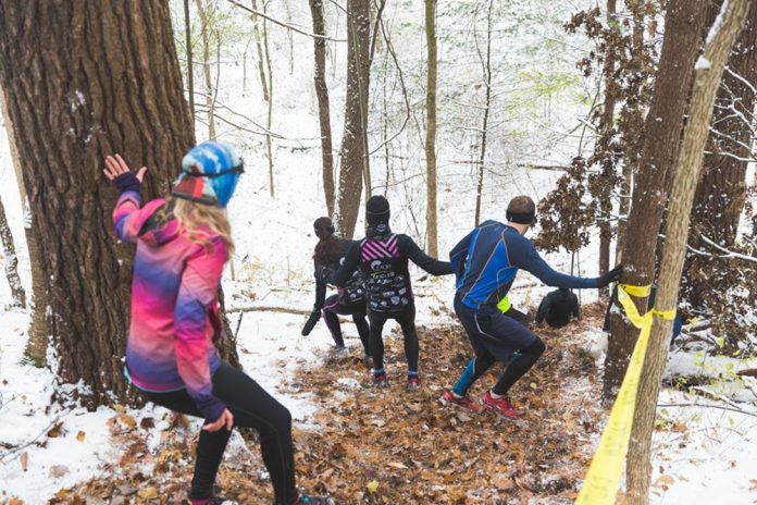 Dirty Duel race runners