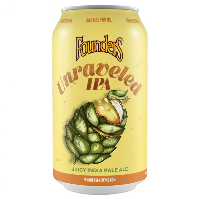 Founders Brewing Co. Unrivaled IPA beer can