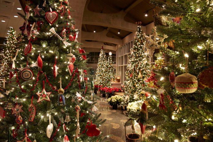 Frederik Meijer Gardens & Sculpture Park Metro Health Christmas & Holiday Traditions