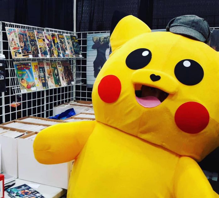 Grand Rapids Comic-Con Pikachu doll