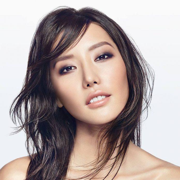 Sephora makeup cosmetics model