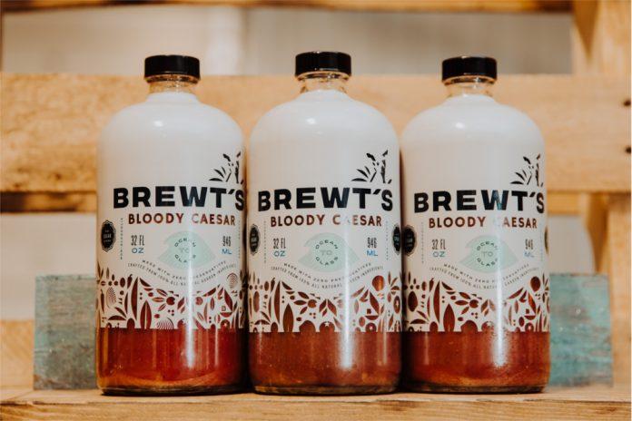 Brewt's Bloody Caesar bottles