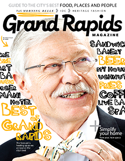 Grand Rapids Magazine Cover - January 2020