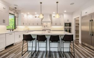 Renaissance Exteriors and Remodeling Kitchen - White