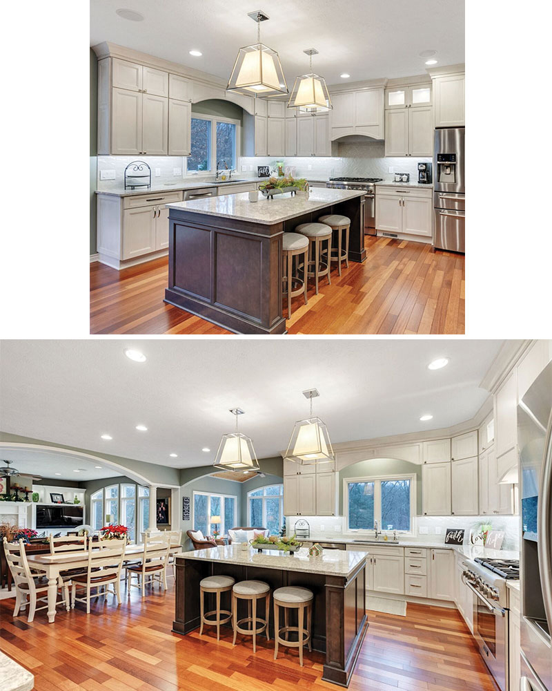 Renaissance Exteriors and Remodeling Kitchen - Gray