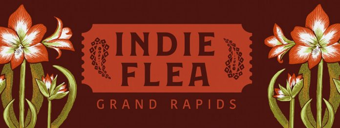 Indie Flea Grand Rapids January 4 2020 poster