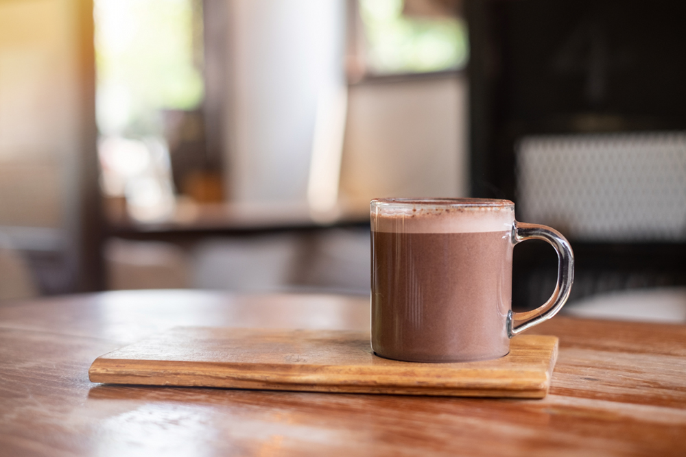 hot chocolate cocoa mug