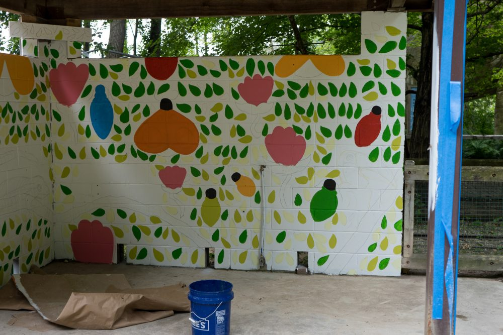 Binder Park Zoo unveils two murals - Grand Rapids Magazine