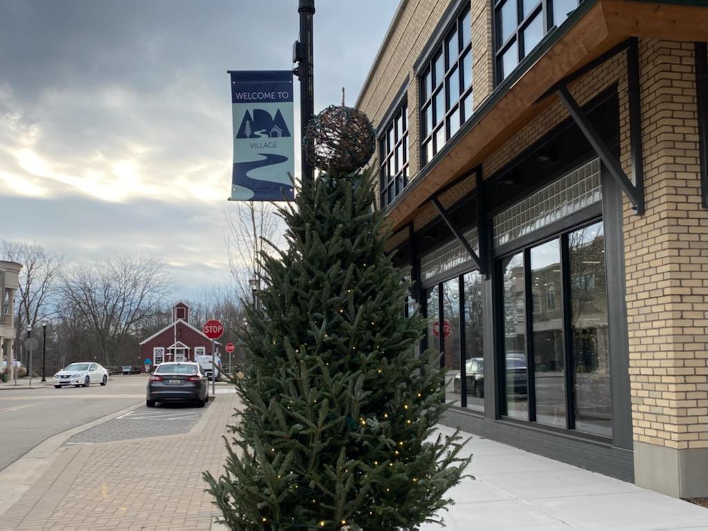 Ada Village Unveils Winter Wonderland Display Grand Rapids Magazine
